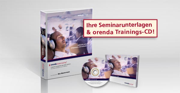 Mentaltraining Seminarunterlagen orenda Mentaltraining CD Trainings-CD