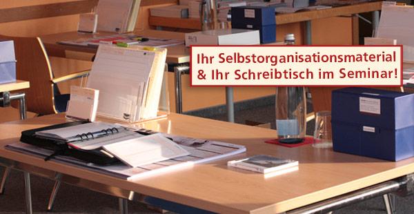 Selbstorganisation Zeitmanagement Selbstamanagement Seminar Material Kurs Schulung