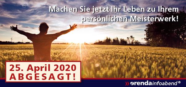 Infoabend 2020-04 abgesagt!!