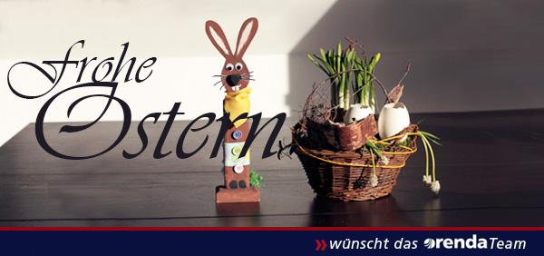 Ihnen und Ihren Lieben ein frohes Osterfest